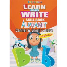 Learn And Write Skill Book Alphabet Capital And Small Letters